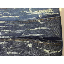 Populares recubiertos Show-Off Print Denim Cotton Indigo